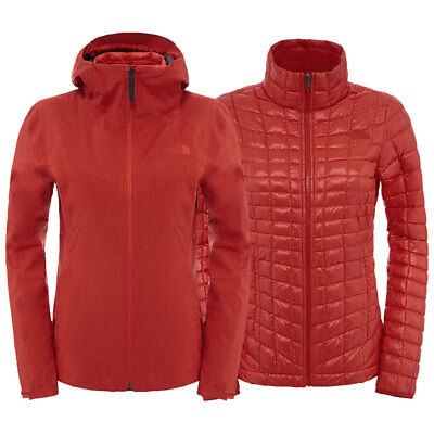 North Face Womens ThermoBall Triclimate Jacket 3in1 WinterDoppeljacke Damen warm