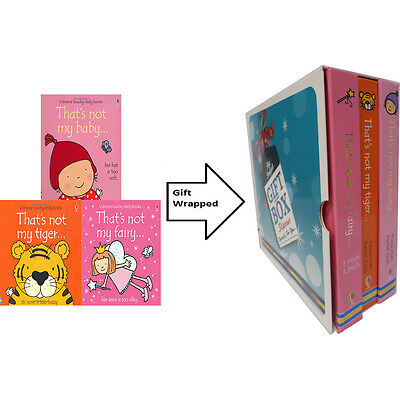 That's Not My Fairy,Baby 3 Books Collection Fiona Watts Gift Wrapped Slipcase
