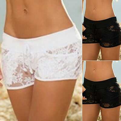 Women Lace Lingerie G-string Briefs Underwear Panties String Thongs Knickers USA