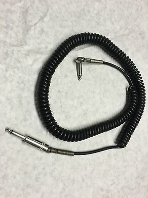 vintage coil cable MIJ Made in japan TEISCO Guyatone Kent case candy LONG 25'