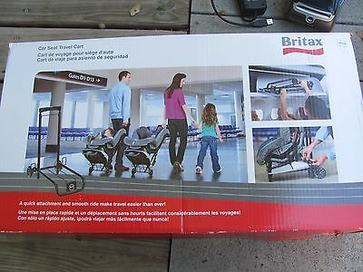 Britax Car Seat Travel Cart Brand New!! IN BOX FREE SHIPPING