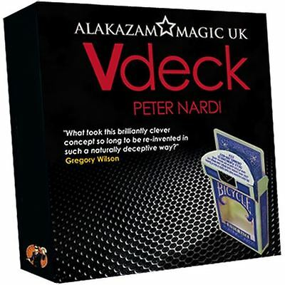 MAGIC: V Deck Blue (with DVD and Gimmick) by Peter Nardi - Trick