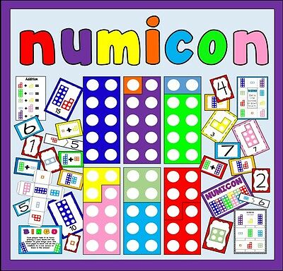 Cd Numicon - Numbers Teaching Resources Eyfs Ks1 Addition Numeracy Maths