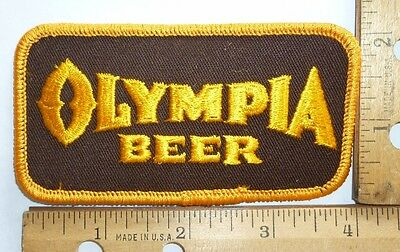 Olympia Beer,   Embroidered Cloth Beer Patch