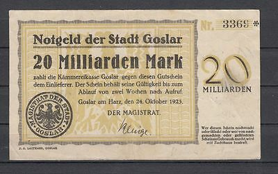 Goslar  -  20 Mrd. Mark
