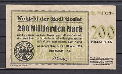 Goslar  -  200 Mrd. Mark