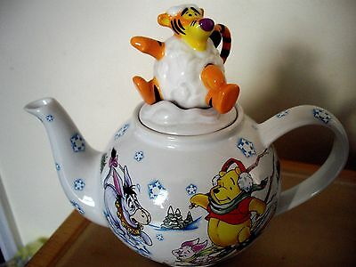 Cardew Design Disney Showcase Collection Small Betty Winter Pooh Teapot