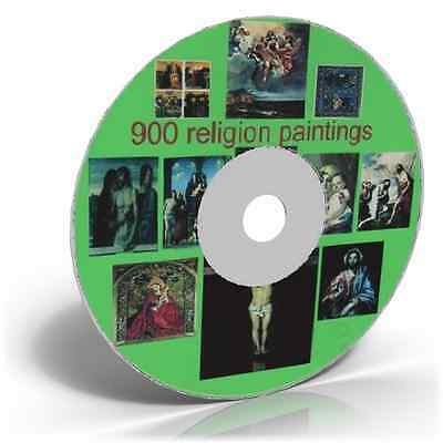 900 Religious Painting Images on DVD Art & Craft