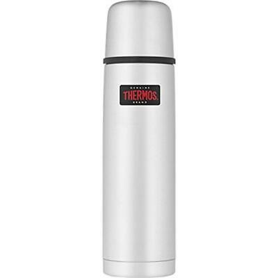 Thermos Isolierflasche Light&Compact Steel matt 0,75 Liter Edelstahl matt