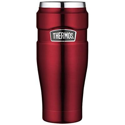Thermos Isoliertrinkbecher Stainless King Cranberry 0,47 Liter rot Trinkbecher