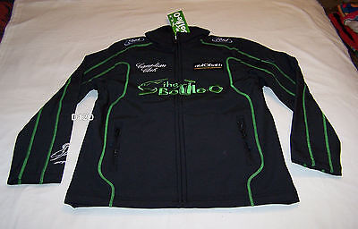 FPR Bottle O Racing Ford Ladies V8 Supercar Team Soft Shell Jacket Size 8 New