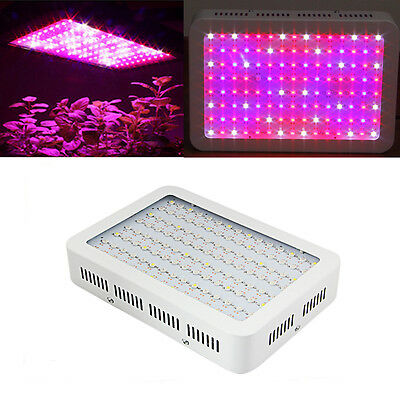 1200W Full Spectrum LED Grow Light 2 Chips Hydro Medical Veg & Bloom Plants Lamp