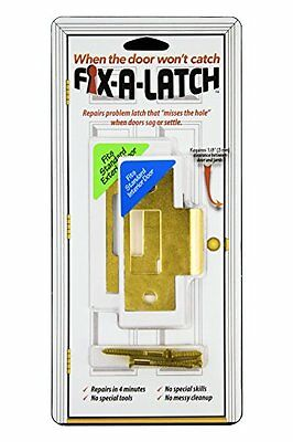 Fix-A-Latch 2-Pack with Brass Finish