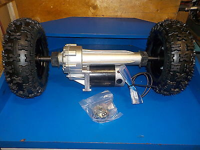 Electric Transaxle 800 Watt Heavy Duty With Tires 24 Volt Cart/wheel Chair/robot