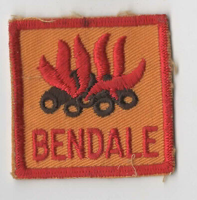 Scouts Canada Ontario Bendale District Woven Back