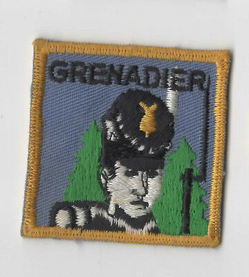 Scouts Canada Ontario Grenadier District ONG03a(?) - Woven Back