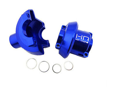 Hot Racing RVO11L06 Cnc Aluminum Outer Diff Case Blue Revo HRARVO11L06