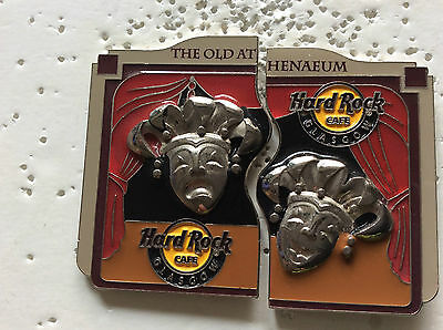 Hard Rock Cafe Glascow 2 Pin Set The Old Athenaeum
