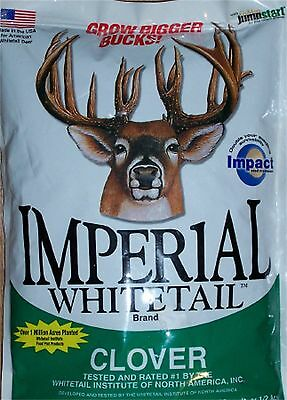 1 lb Whitetail Institute IMPERIAL CLOVER Seeds Deer Plot Seed Pet Pasture Ladino