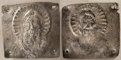 PCW-AN227-BYZANTINE SILVER PLAQUE. Ca. 8th-10th Century.