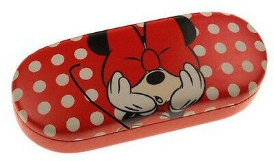 Disney Minnie Mouse Red Polka Dot Sunglass or Eyeglass Case