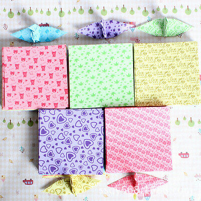 150 Sheets 6.5*6.5cm Colorful Square Origami Folding Paper One Sided DIY Craft b