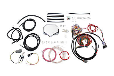 Wire Plus Chopper Wiring Harness Kit, EA,for Harley Davidson motorcycles,by V-Tw