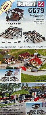 Z  scale  KIBRI # 6679 - OPEN AIR THEATER  WITH STANDS KIT