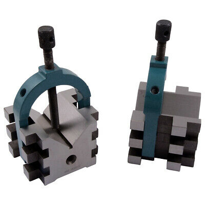 "2.5 X 2.75 X 2"" Mulit-Use V-Blocks & Clamps Set (3402-0112)"