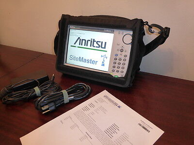 Anritsu S331E Sitemaster Cable/Antenna & Spectrum Analyzer - CALIBRATED!