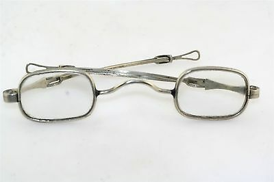 18th 19th Century Antique Silver Spectacles Eyeglasses