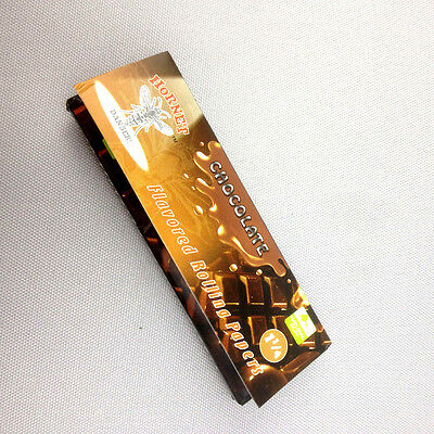 """50 leaves 1 1/4"""" 78mm Rollers chocolate Hornet Handroll Flavored Rolling Papers"""
