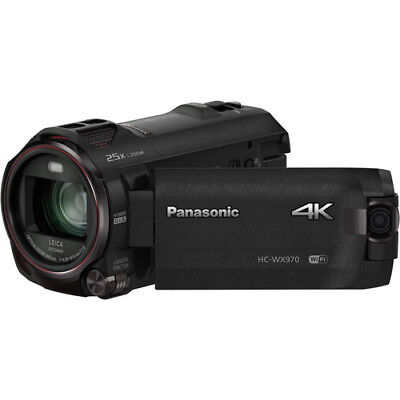 Panasonic Hc-wx970 4k Ultra-hd Camcorder With Twin Video Camera