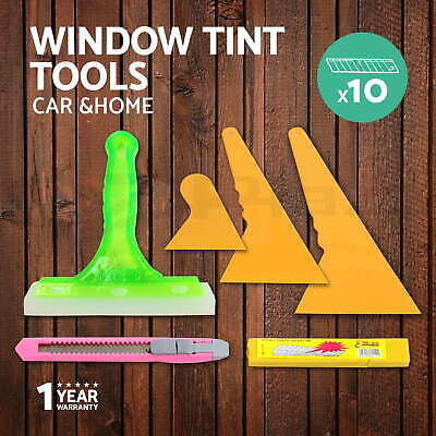 Window Tinting Tools Kit For Auto Car Truck House Application Tint Film Squeegee