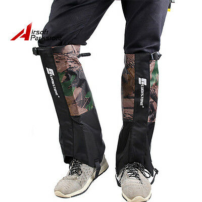 1 Pair Outdoor Camouflage Waterproof Durable Podotheca Shoes Cover Snow Legging