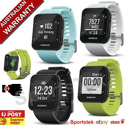 GARMIN Forerunner® 35 GPS RUNNING WATCH easy to use with WRIST-BASED HEART RATE