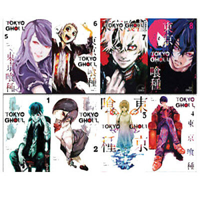 Tokyo Ghoul Children Manga Pack Volume 1-8 Collection By Sui Ishida 8 Books Set