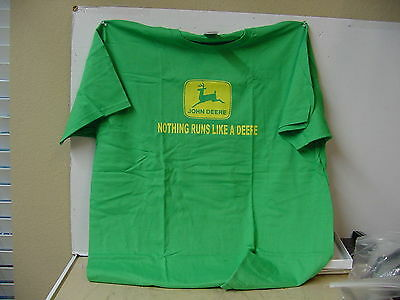 John Deere  Green T-Shirt, New, Sizes Avail. M, Xl, 2Xl, 3Xl
