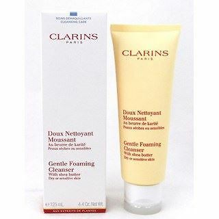 Clarins - Gentle Foaming Cleanser with Shea Butter 125ml (Dry/Sensitive)
