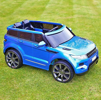 Kids Range Rover HSE Sport Style 12v Electric Battery Ride on Jeep - Blue