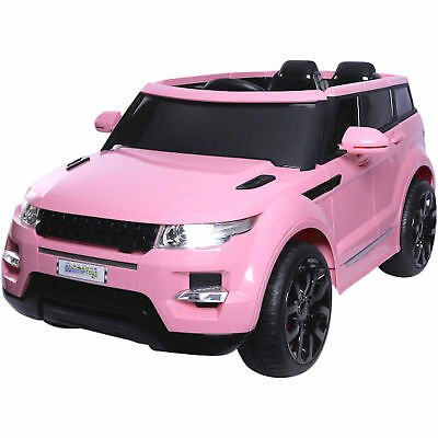Kids Range Rover HSE Sport Style 12v Electric Battery Ride on Jeep - Pink
