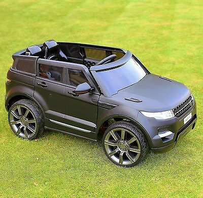 Maxi Range Rover HSE Sport Style 12v Electric Battery Ride on Jeep - Matt Black
