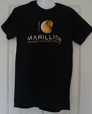 T Shirt Marillion : Sounds That Can't Be Made European Tour 2012 / 2013  Black