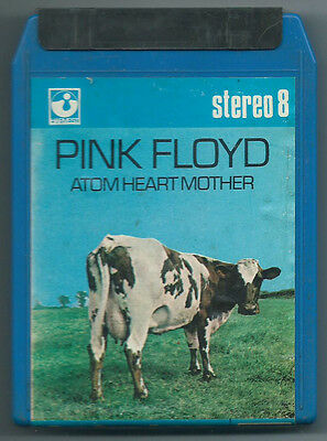 STEREO 8 TRACK CARTRIDGE PINK FLOYD Atom Earth Mother (Harvest/Emi 70 ITALY) NM!