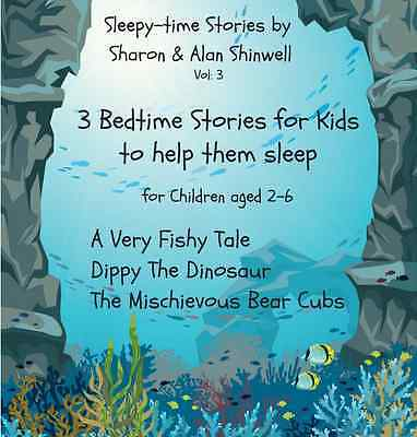 Bedtime Stories for Children to help them sleep 2-6 year olds. Audio CD. Vol:3