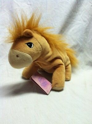 New with Tag Precious Moments Tender Tails Pony Horse Plush 1987 Enesco
