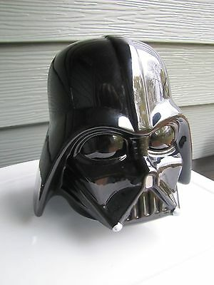 "Galerie Porceline Darth Vader Cookie Jar Head 8"" X  7.5"""