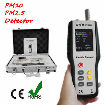HT-9601 PM2.5 Detector Particle Monitor Laser Dust Humidity Meter Air Analyzer