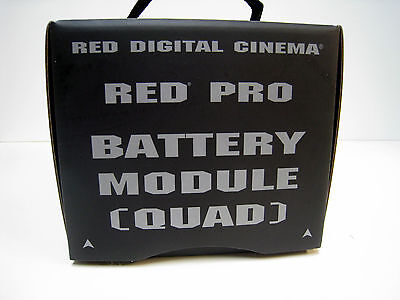 New PRO BATTERY MODULE (QUAD) RED Digital Cinema Original Product 720-0006