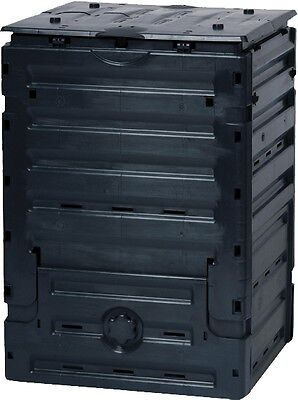 """Graf Thermo composters """"Eco-Master"""" 300 Liter Black"""